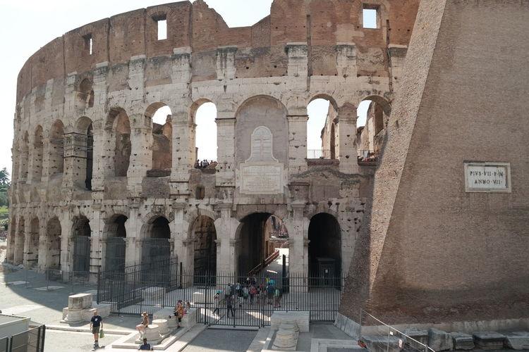 Colosseum, Rome Ancient Civilization Architecture Colosseo Colosseum Famous Place Kolosseum Meet Rome Rome Italy Travel Destinations