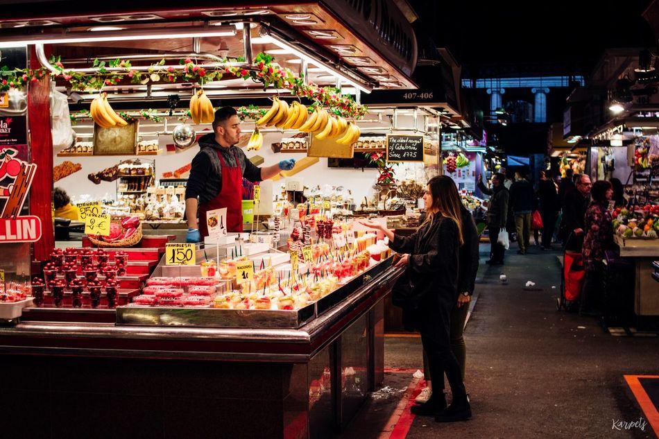 Retail  Store Market Fruits Cityscape Streetphotography Street Buying SPAIN Barcelona Travel Destinations EyeEmBestEdits Photography Karpetsphoto EyeEm City Life EyeEm Best Shots