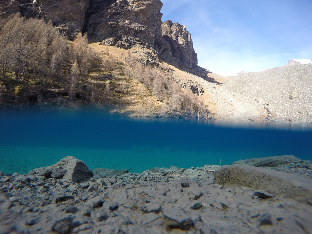 Gopro Lago Lagoblu Champoluc Lake Beautiful Lagoblu Traveling
