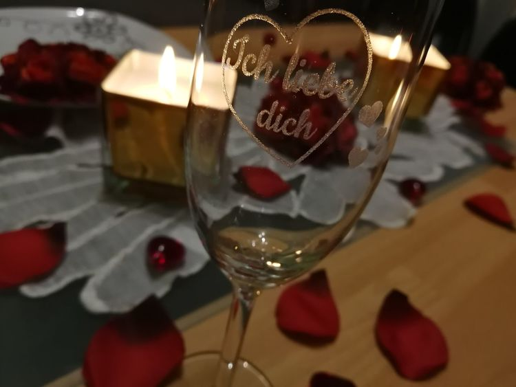 Romantic dinner Romantic Dinner Candlelight Heart Glass Celebration Romantic Atmosphere Atmosphere Love Valentine's Day  Valentine Dinner For Two Indoors  Table Drink Celebration Close-up Food And Drink Wine Alcohol No People