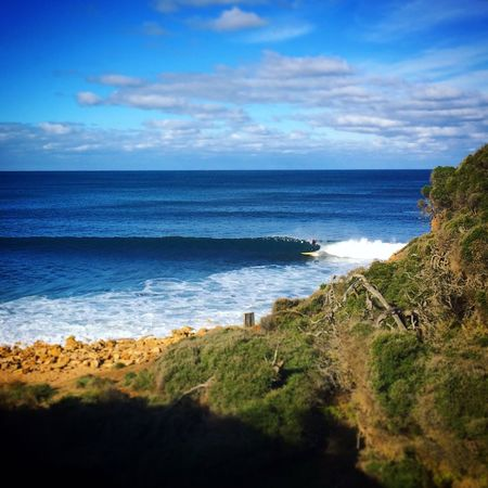 Bells Beach Holiday Surfer Torquay Beach Beauty In Nature Blue Blue Sky Cloud - Sky Day Horizon Over Water Nature No People Outdoors Scenics Sea Sky Surfing Tranquil Scene Tranquility Vacation Water
