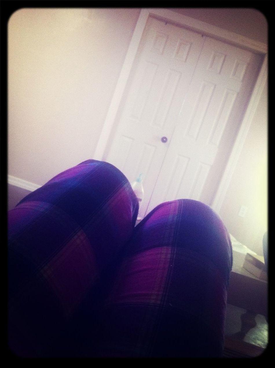 Still in Pajamas!