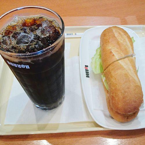 食べもの ミラノサンド Doutor ドトール Food Foods Coffee ☕ Coffee コーヒー 珈琲