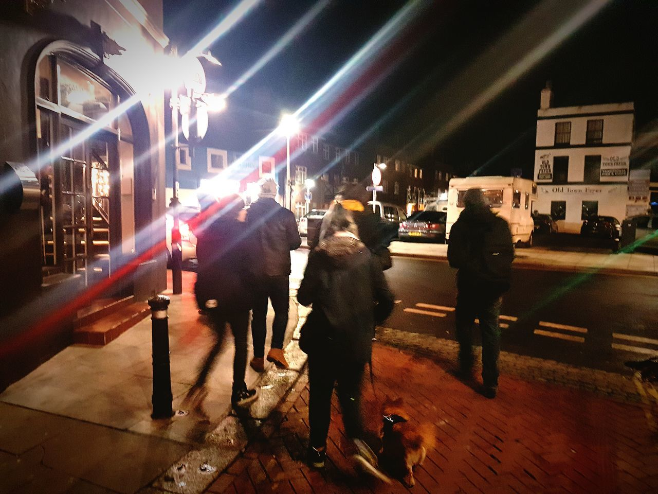 Night People Outdoors