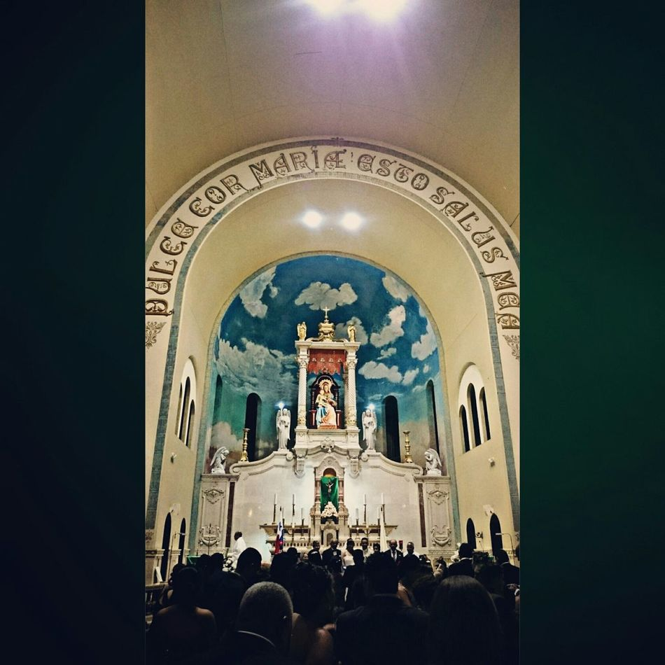 Iglesia Santuarionacional Church Iglesia Wedding Altar Bodaange&edgar
