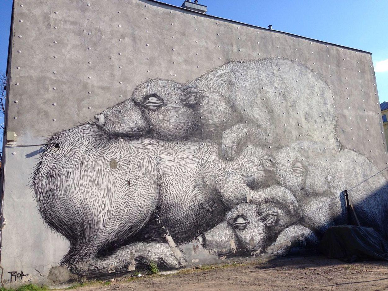 A cute graffiti in Warsaw, Poland Tadaa Community Street Art IPhoneography Traveling Graffiti Warsaw Poland