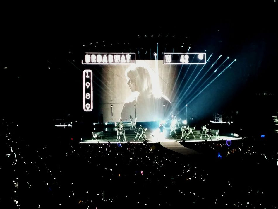 Concert Photography Taylor Swift 1989 Tour Bridgestone Arena Cgk Photography