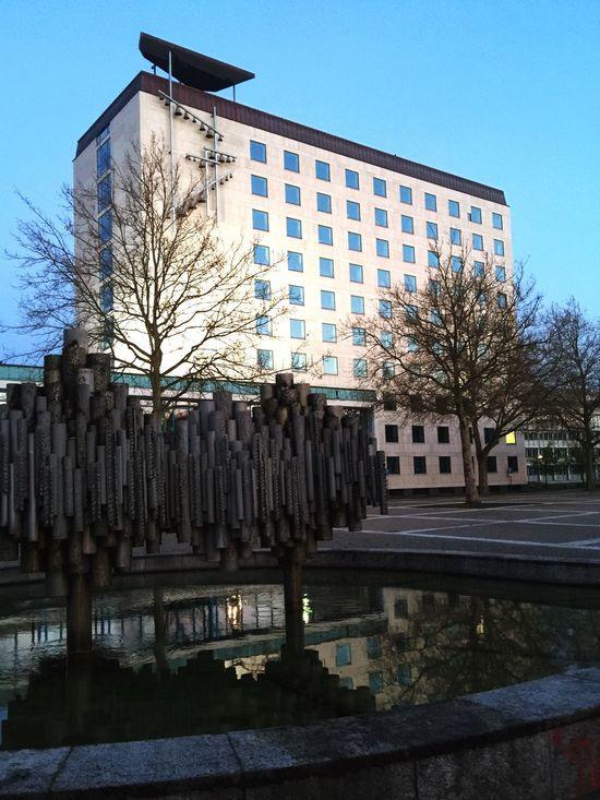 Kunst Im öffentlichen Raum  Rathaus Alvar Aalto Wolfsburg