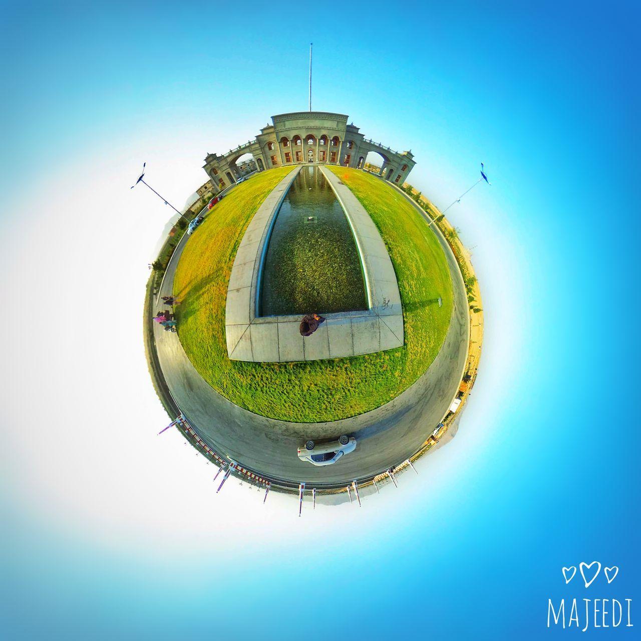Aino Mena, Kandahar, Afghanistan Fish-eye Lens Circle Tiny Planet Tinyworld Tinyplanets First Eyeem Photo