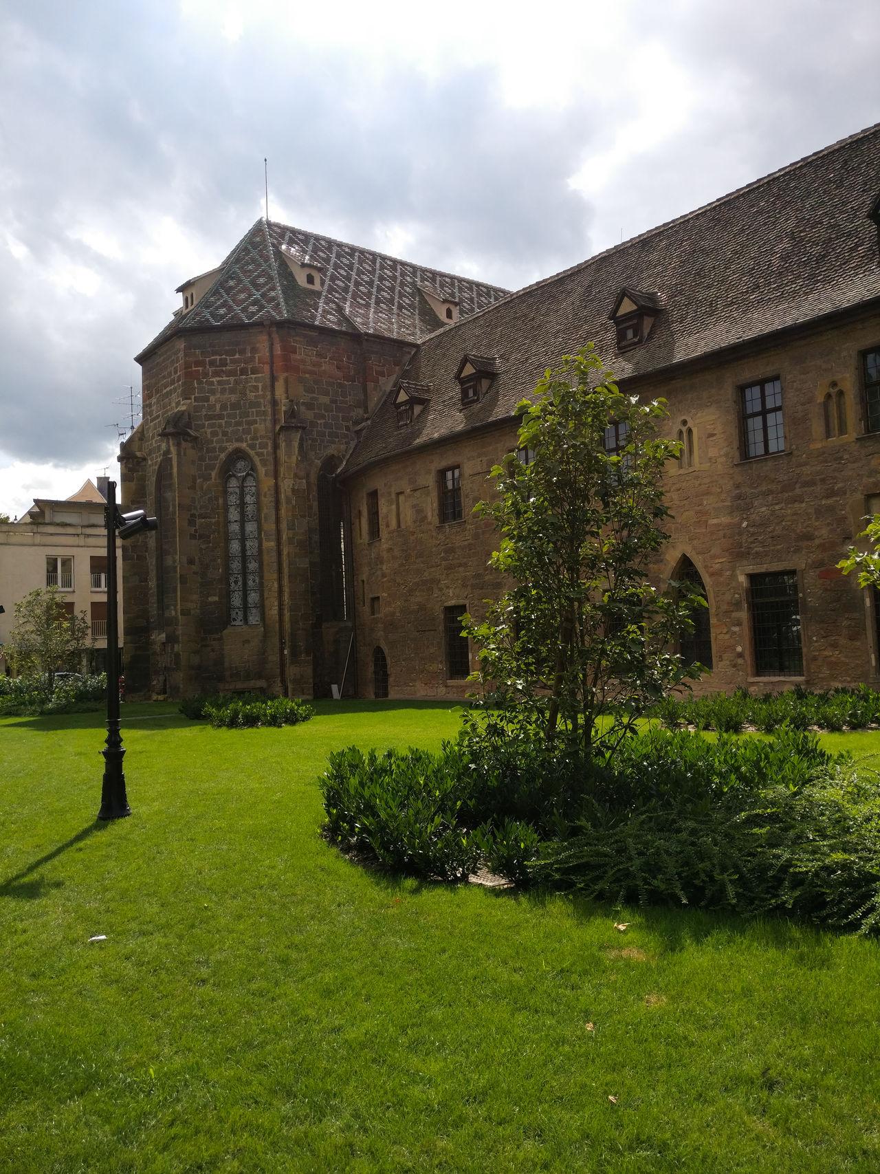 Architecture Building Exterior Grass Travel Destinations History Church Colmar, Alsace, France