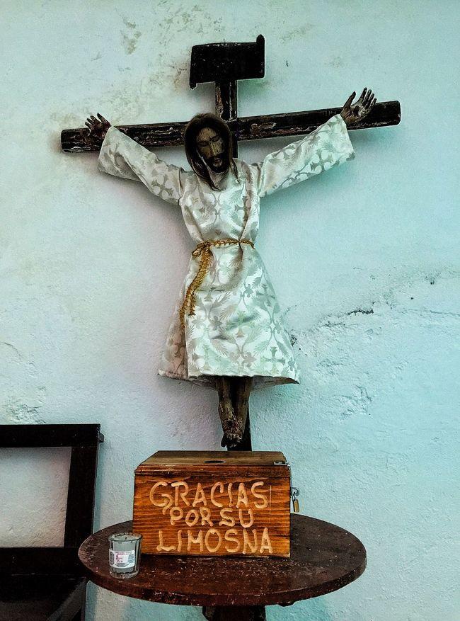 The Traveler - 2015 EyeEm Awards Exhacienda De Chautla Check This Out Taking Photos Religious  Jesus Church Churches