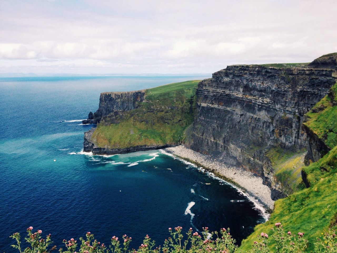 Ireland Cliffs Of Moher  Traveling Landscape