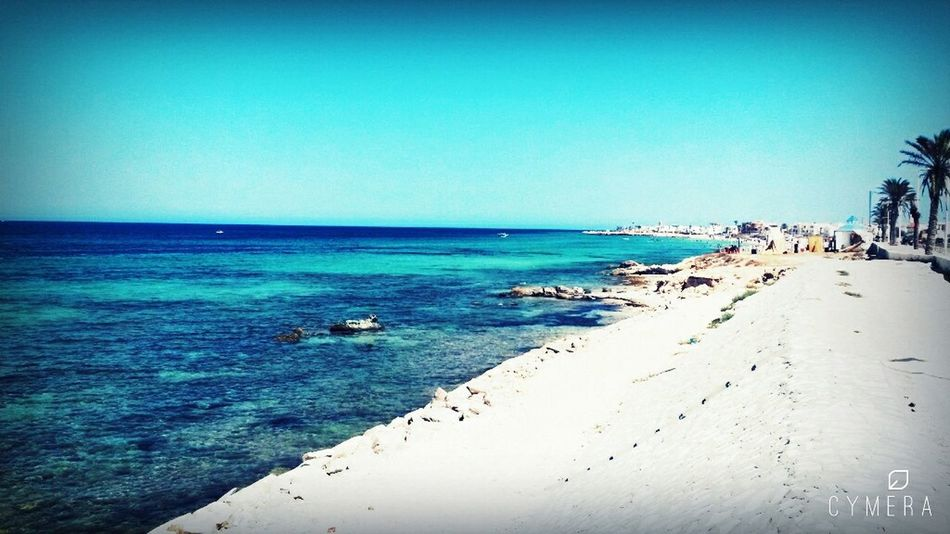 My Photography Beautiful Nature From My Point Of View Chebba Beach Mahdia/Tunisia Peace ✌