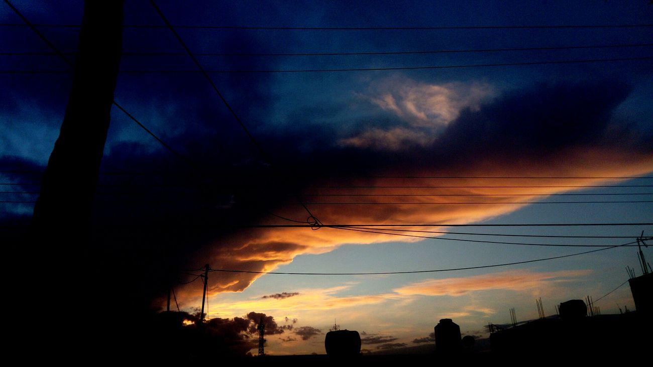 Night RosarioCity Sky Beatiful Nature Eyeemphotography Oaxaca Natural Light Sky Colors