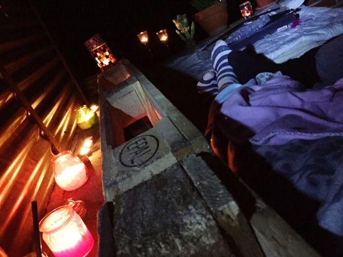 Midnight 💕 Night Outdoors Illuminated