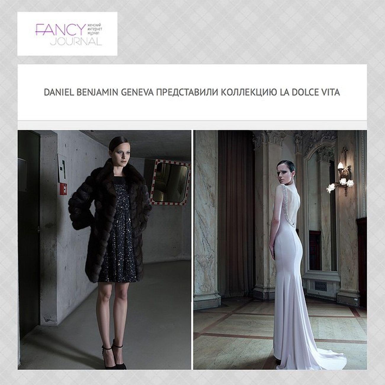 Daniel Benjamin Geneva presented new collection La Dolce Vita@danielbenjamingenevaFürs Luxury Fancyjournal