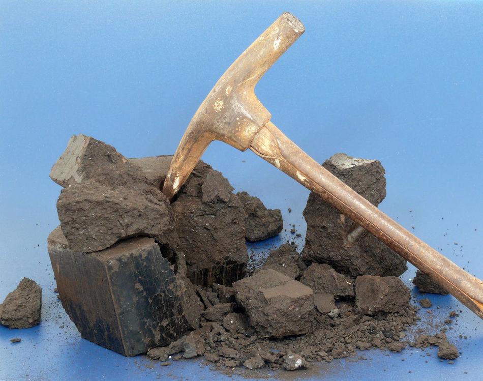 Braunkohle Braunkohletagebau Briketts Coal Coal Mine Coalmine Coals Day Festbrennstoff No People Outdoors