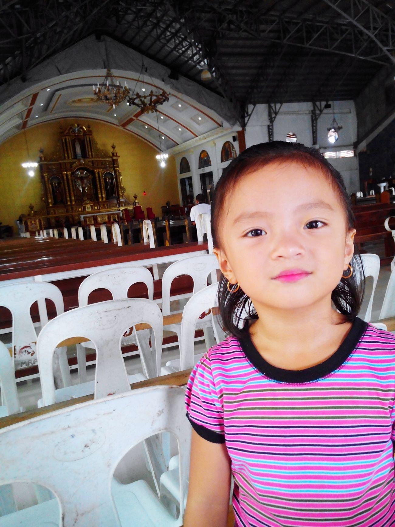 Queeny Sunday Mass Church Ourladyoffatima Pink