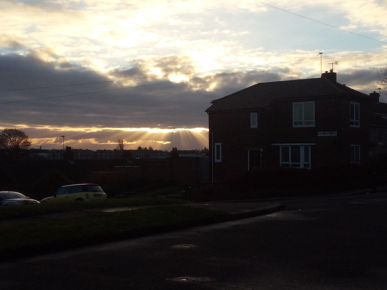 Cloud - Sky Sunlight And Shadows Outdoors Suburban Landscape