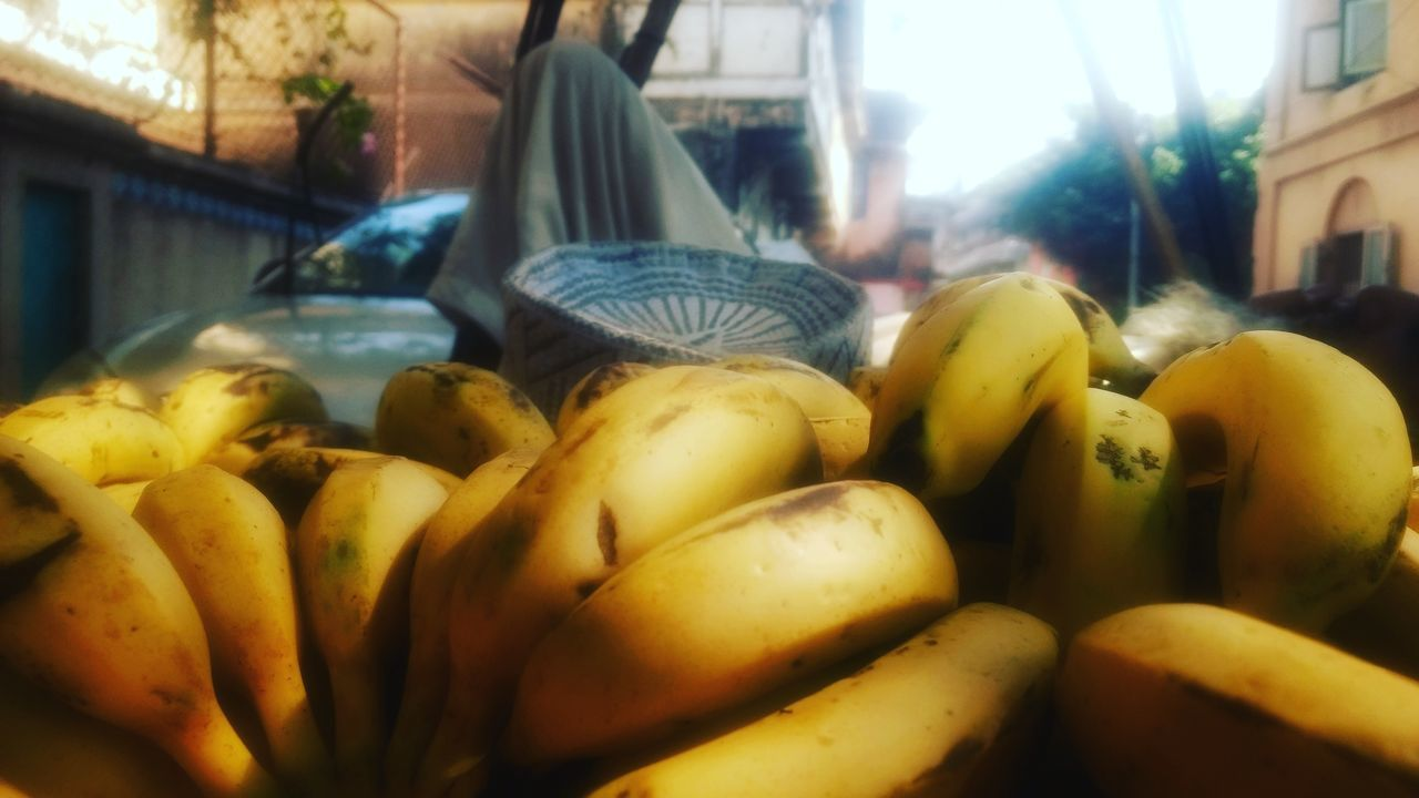 Freshness Abundance No People Food Fruit Food And Drink Variation Choice Retail  For Sale Close-up Market Healthy Eating Outdoors Day Mymumbai Hdfcredindia Photography Mubai Igers My Mumbai Rocks!!! Mumbaikar MumbaiDiaries Sky Bananas Fruit Photography