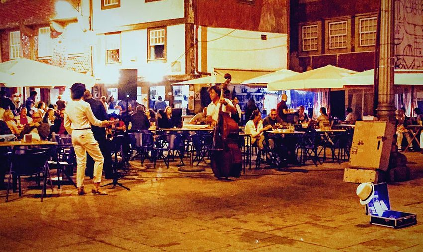 Capture The Moment Night Lights Glitch Night Music Night Life in Porto Portugal People Photography People Having Fun