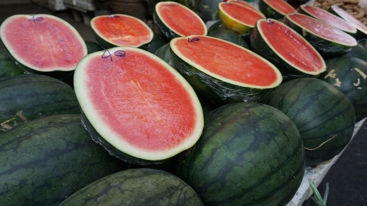 Water Melon Close-up Day Food Freshness Fruit No People Thailand Tropical Fruits Water Melon