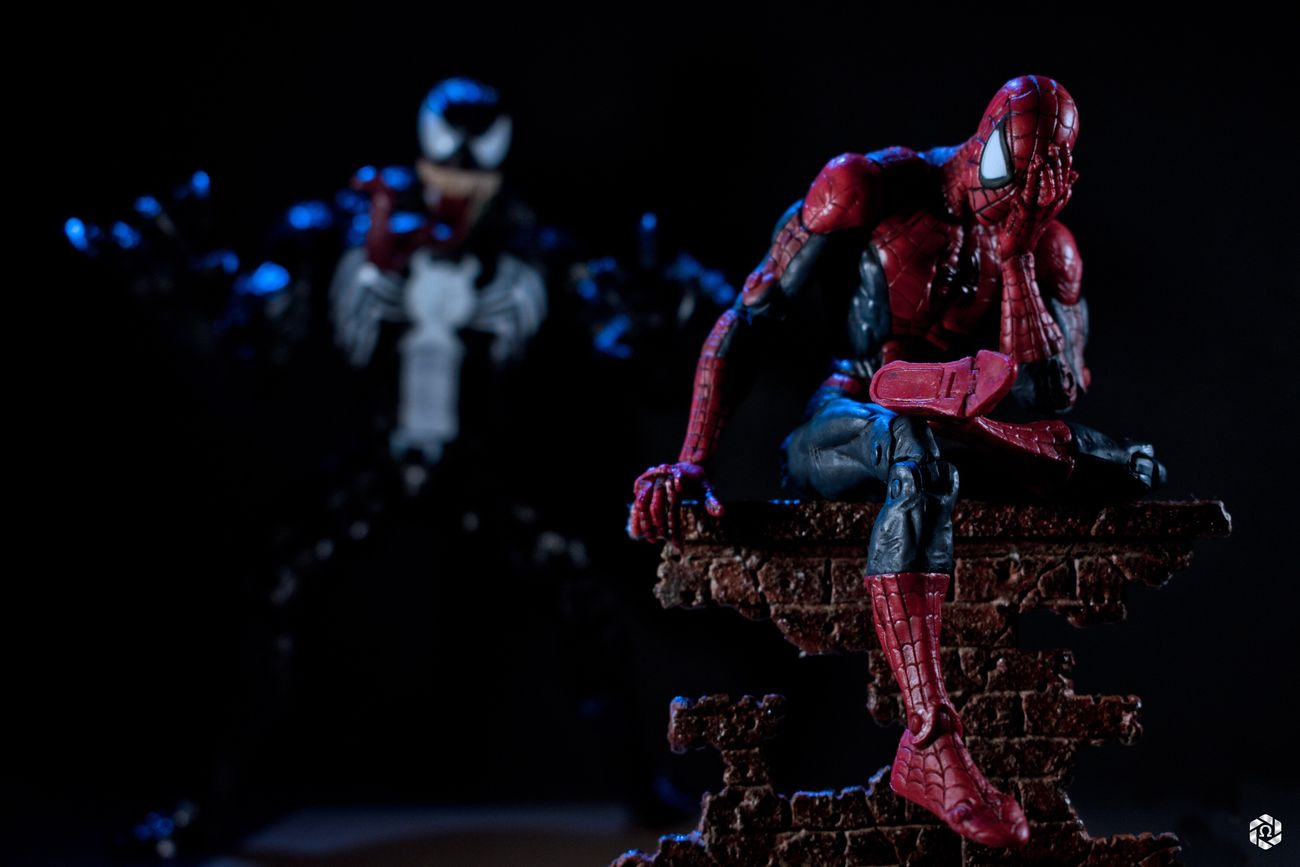 Marvel Marvellegends Toybiz Spiderman Venom