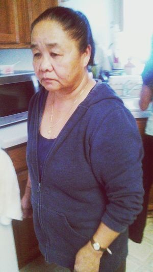 Gram was trying to run away from the camera lol cutie <3