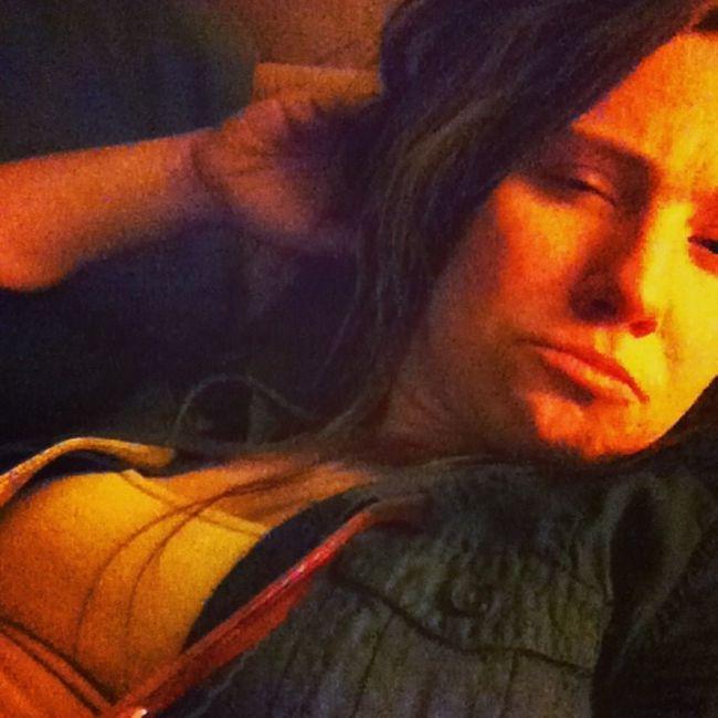 Sick and Sleepy for my participation in Selfiesunday My eyes burn Stonelove Lazysunday