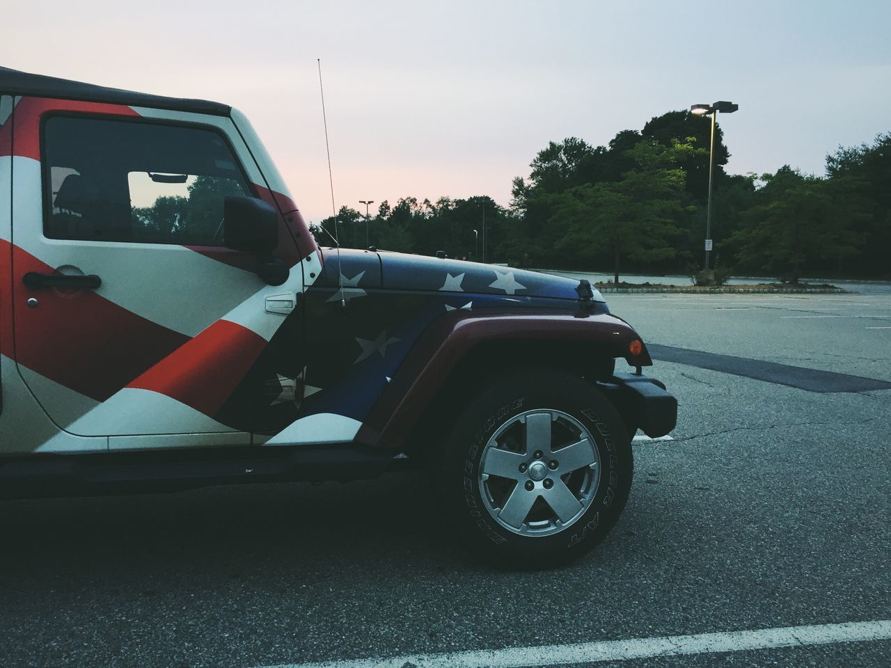 Beautiful stock photos of patriotic, American Flag, Day, Jeep, Land Vehicle