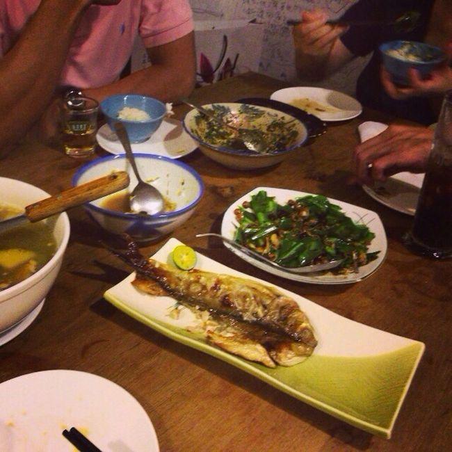 今夜は台湾の家庭料理。 今晚吃臺灣家常菜。