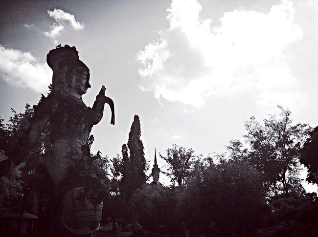 Black and white photo Thailand Nongkhai Hellothailand