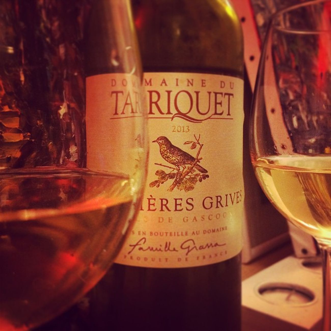 C'est l'heure! The White Pause. Instawine Winolife Wino Whitewine Tariquet