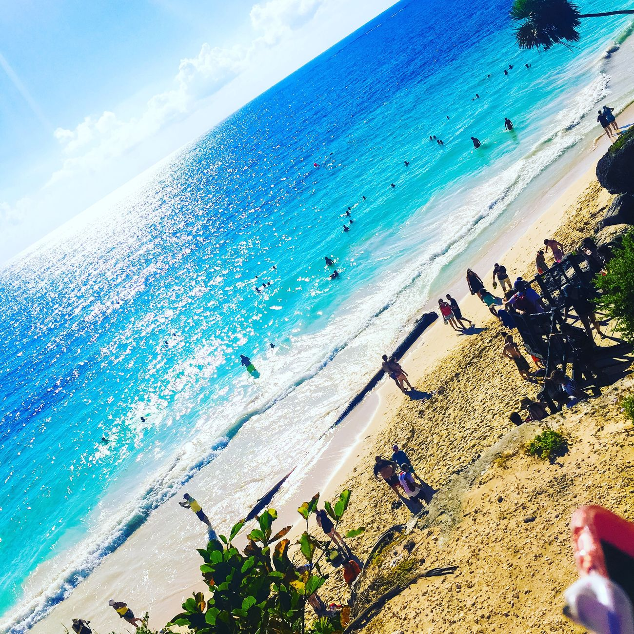 Playa de Tulúm 🏝🏊🏼🔥☀️🔥😎 / Tulum Beach 🏝 Beach Sea Tulum , Rivera Maya. Tulum Beach Tulum Ruins Mexico Water Sand