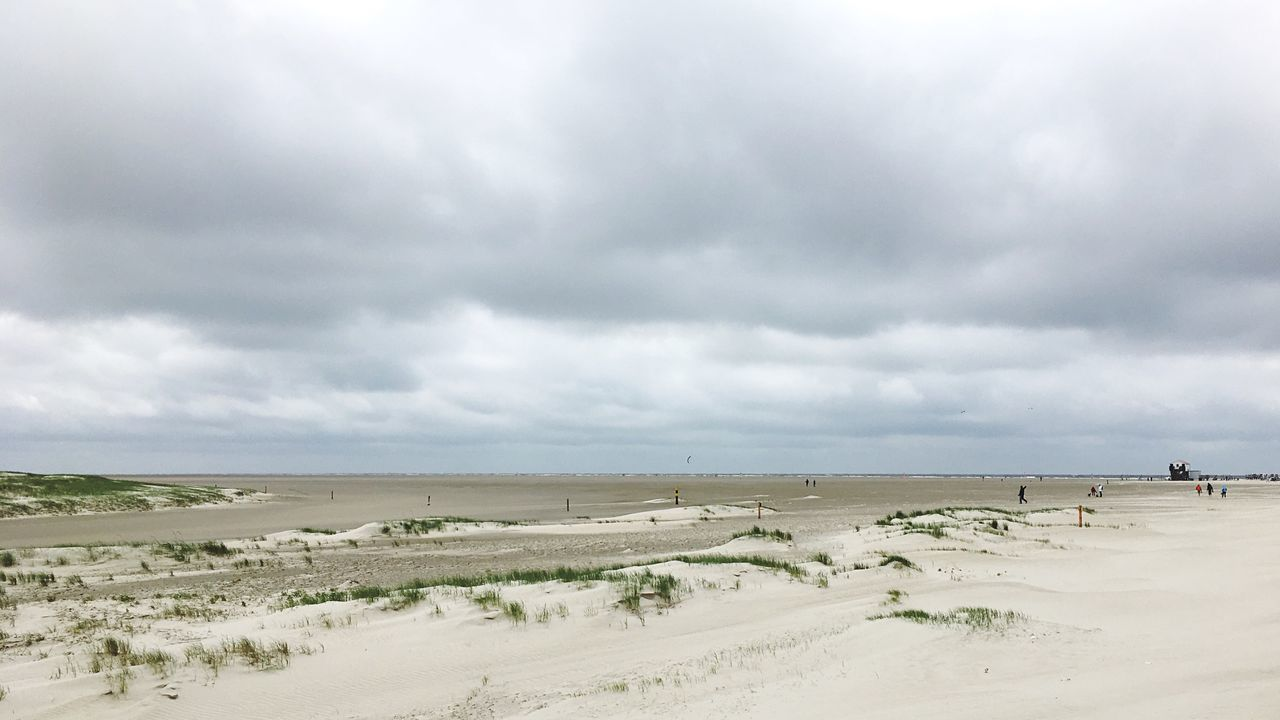 Beach Sand Sky Nature Sea Cloud - Sky Scenics Horizon Over Water Water Beauty In Nature Tranquility Day Tranquil Scene Outdoors Landscape No People