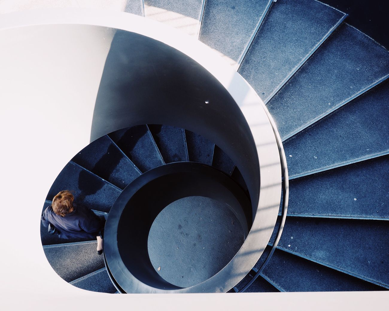 Spiral Staircase Close-up Built Structure Steps And Staircases Architecture Looking Down Light And Shadow Minimalism Architecture Geometric Shape Urban Geometry at Basel, Switzerland