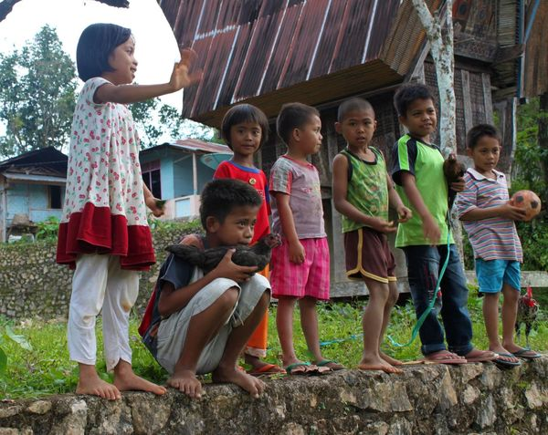 INDONESIA Tana Toraja Boys Casual Clothing Cheerful Child Childhood Day Elementary Age Enjoyment Friendship Full Length Girls Medium Group Of People Outdoors Portrait Real People Side View Smiling Standing Togetherness The Week On EyeEm The Week On EyeEm