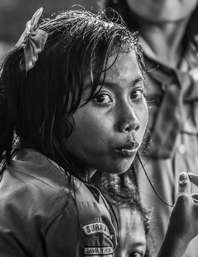 Indobesia Portrait Portrait Of A Woman Reportage Outdoors One Person Close-up Day Real People