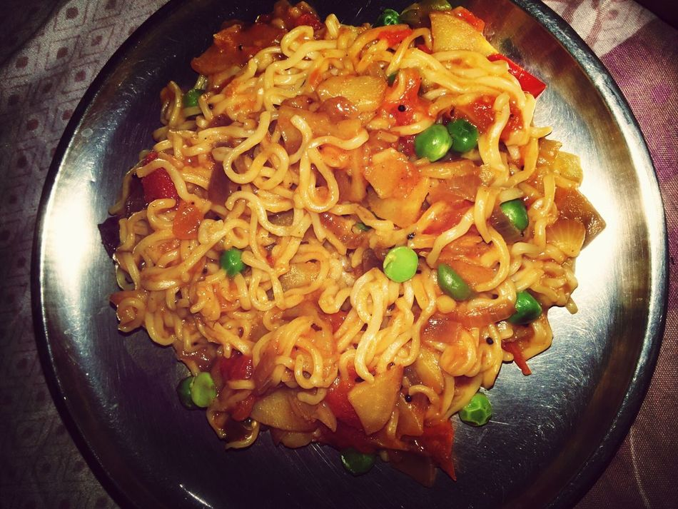 Yummy noodles... Too Spicy