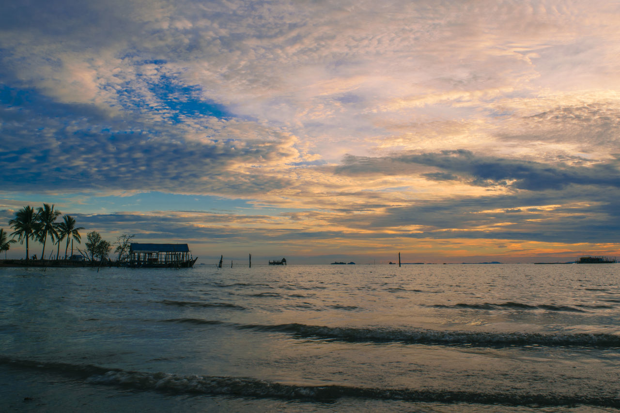 Seascape Sea Beach Sunset Cloud - Sky Postcard Outdoors No People Nature Palm Tree Sky Beauty In Nature Scenics Vacations Landscape Water Day Sunlight Nature Sunset_collection Beauty In Nature Sea And Sky Check This Out Dramatic Sky Romanticsky