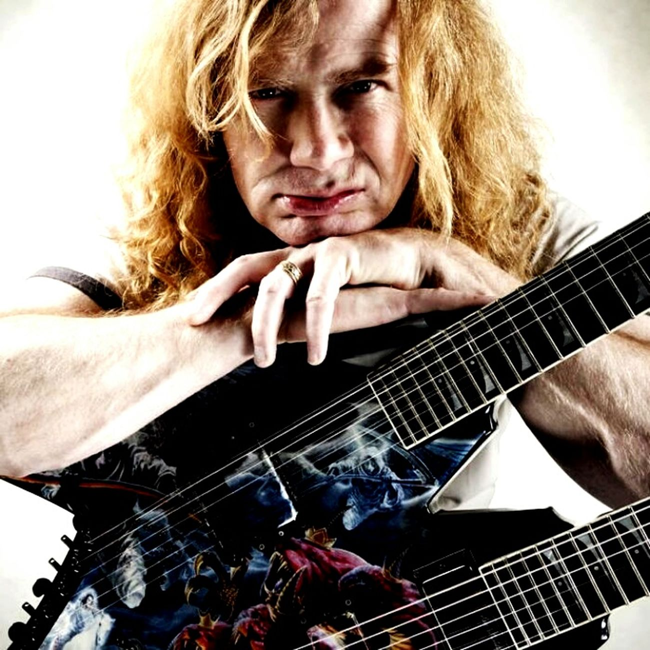 Megadeth Dave Mustaine Cool ?? ın my darkest hours