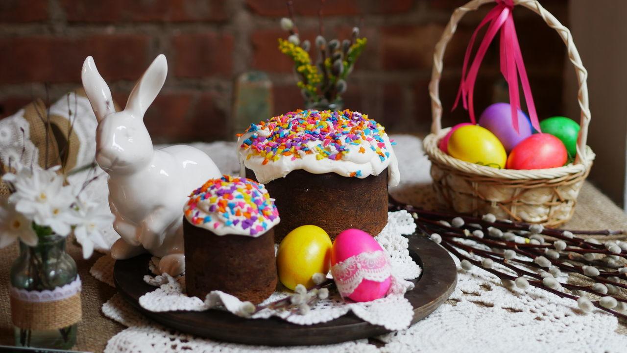Beautiful stock photos of easter bunny, Animal Representation, Art And Craft, Basket, Cake