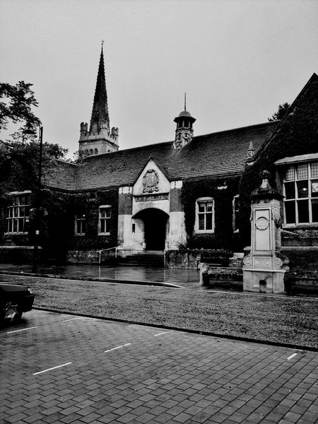 Kettering Library Library Northamptonshire Blackandwhite