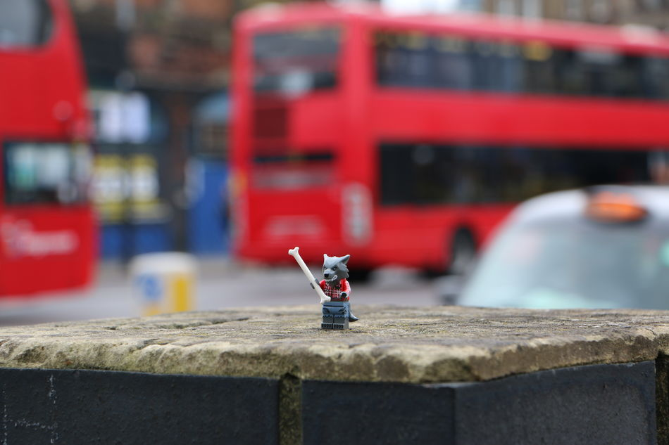 Warewolf in London ... Black Cabs LEGO Legophotography London London Bus London Taxi London Transport Still Life