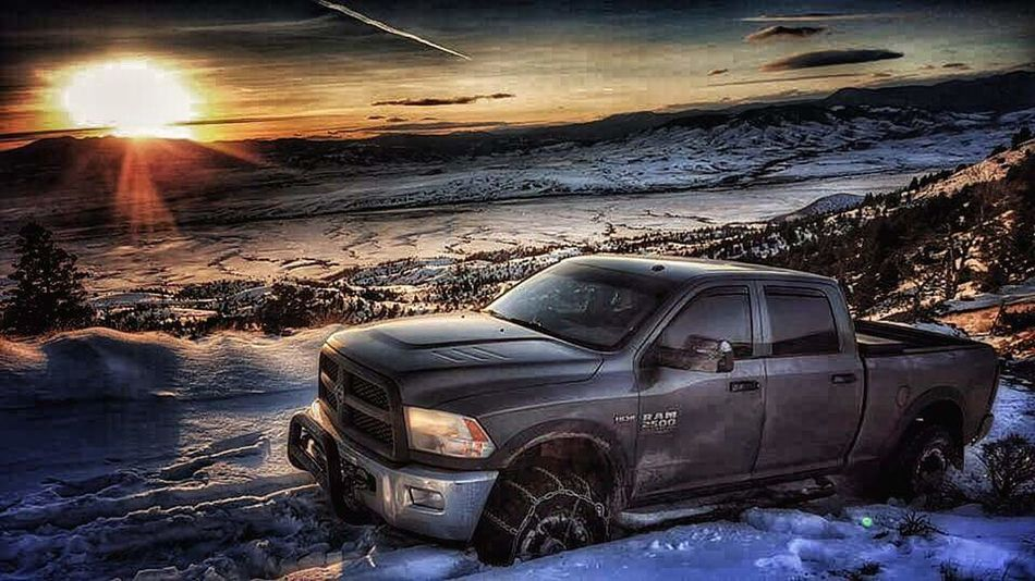 Ram Truck Power Wagon Whitehall 4x4 Off Road Driving Off Road Wheelin ✌ Winch Snow Covered Deepsnow Tires Truck Montanamoment Montanalife RAM 4x4life 4x4 Trucks 4x4wd Dodge Dodge Ram  Winch Mob Montana Beauty Montana