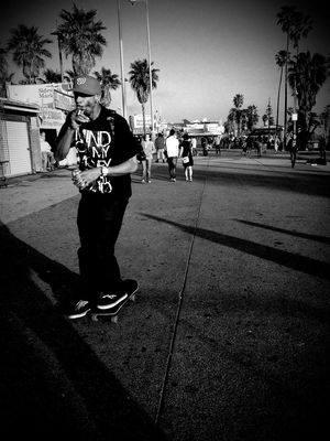 blackandwhite at Venice Beach by RyanV