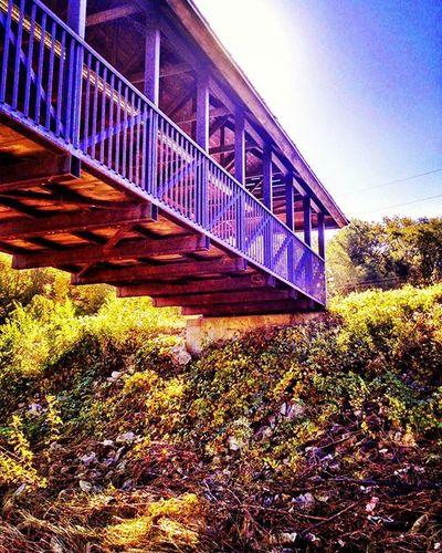 Covered bridge at Chamber of Commerce in Atchison Kansas. ...Ks_pride Atchison Wow_america Wow_worlds_bridges Kansasnature Worldwide Sunrise_sunsets_aroundworld Sunrise WOW Wow_america_landscape World_bnw Googleplus Fuckyeah Sunrisagram