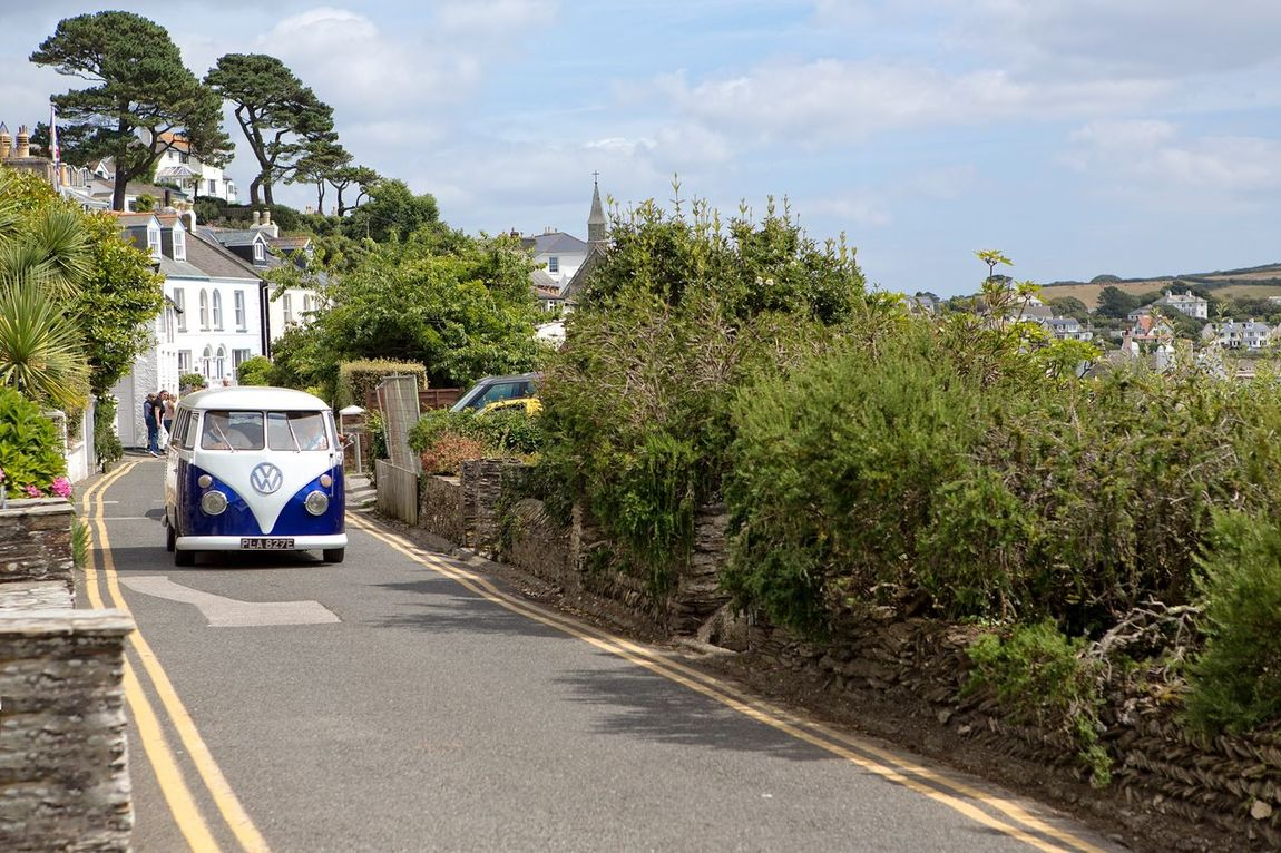 Cornwall Uk St Mawes Harbour Vwcamper Summertime