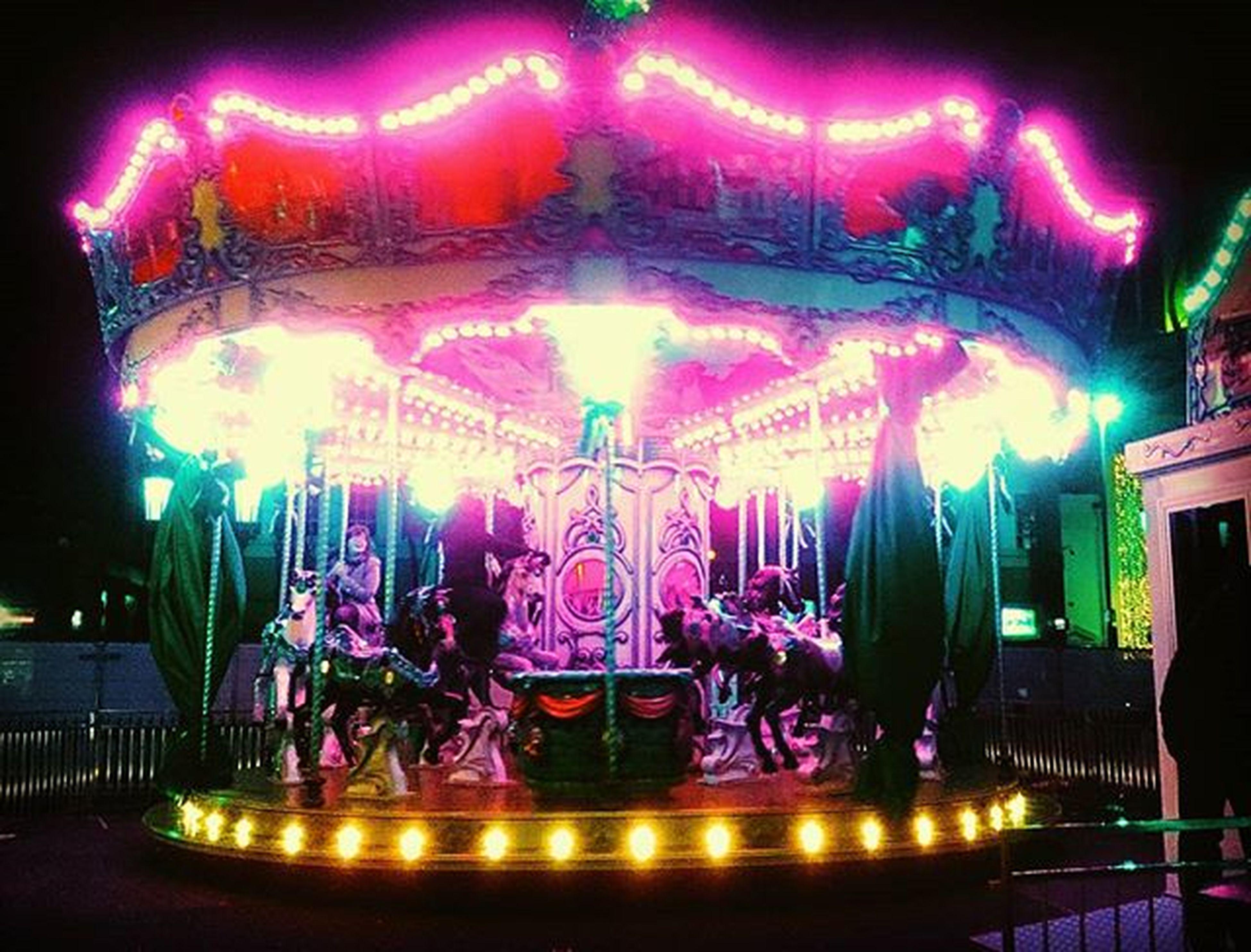 Carousel at the Belfast Continental Christmas Market :-) Carousel Christmas Belfast Belfastchristmasmarket Northernireland PureNorthernIreland Discovernorthernireland Horse Fun Funfair Lights Colour Night Market Christmasmarkets Icuireland Ireland Pretty Christmastime Festival Fair Children City Citylights Festive