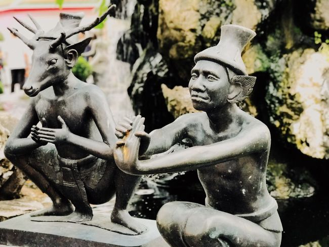 Statue Sculpture Art And Craft Human Representation Male Likeness No People Day Indoors  Close-up